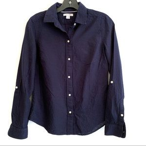 NAUTICA BUTTON DOWN LONG SLEEVES BLOUSE